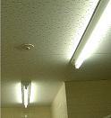 人感センサーによる消灯
